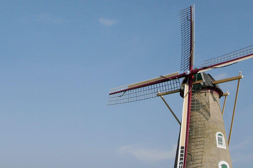 Windmühle in den Niederlanden